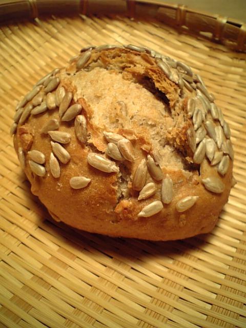 ひまわりの種のライ麦パン
