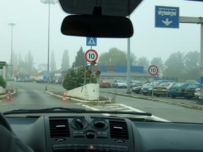 国境(ベルギー→フランス)
