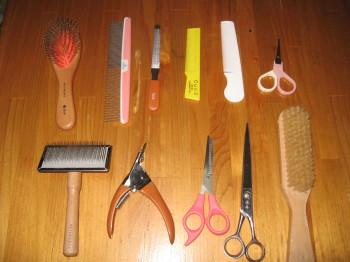 メル道具たち