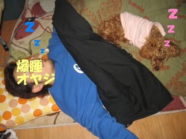 爆睡くんと爆睡ちゃん