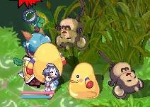ミンゴとモンキャ