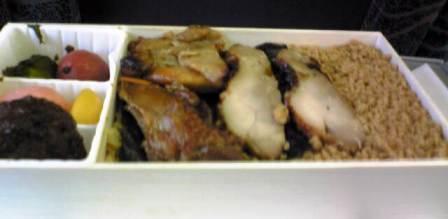 鶏めし弁当中身