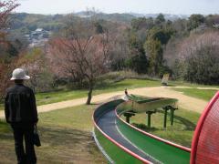 松尾寺滑り台