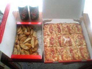 ピザはピザでも。。。