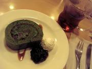 ジョナサンの「抹茶ロールケーキ」