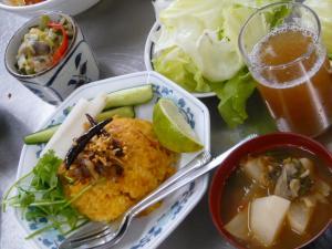 ミャンマー料理教室1