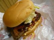 Wendy'sの「ベーコンBBQバーガー&チリチーズフライ」2