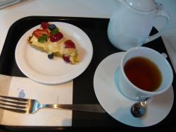 TV Cafe+ の「ベリーパイ&ティー」1