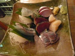乃木坂の魚真のお刺身2