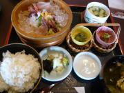 「庄屋の館」の海草料理3