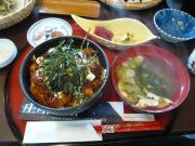 「庄屋の館」の海草料理4