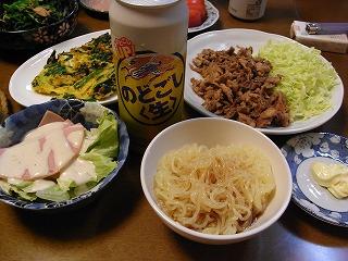4月30日 こんにゃく麺(中華味)