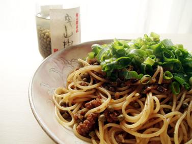 肉燥_山椒麺