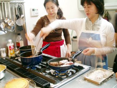 料理づくり