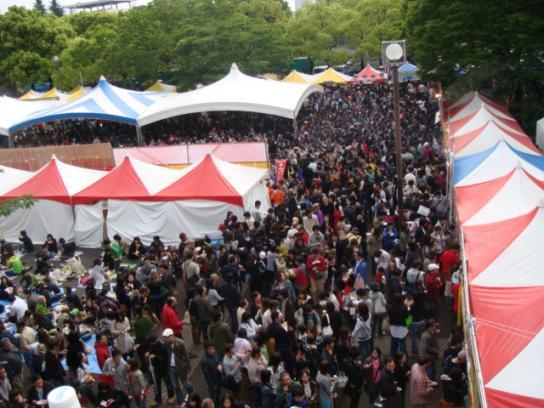 タイフェスティバル2008 盛況ぶり