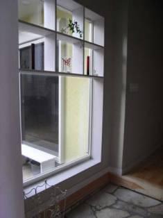 FIX窓と飾り棚