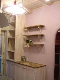 キッチン背面