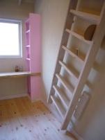 子供部屋のはしご1