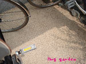 ガンコマサ施工の自転車置き場