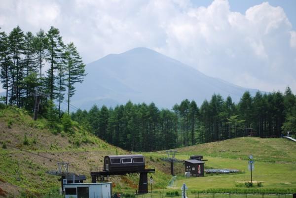 浅間山、良く見えました!