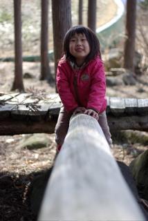 20080330公園丸太you