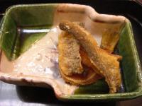 岩魚の骨煎餅