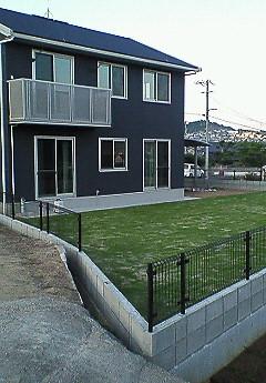 でも、芝生養成中の為T&Dはしばらく芝へは立ち入り禁止~