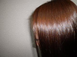 髪の色明るく・・・