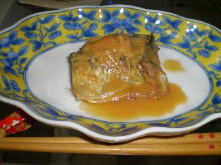鯖の味噌煮0402