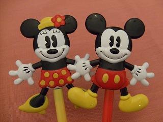 ミッキー&ミニー ボールペン