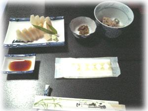 竹の子料理1