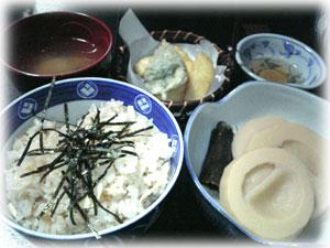 竹の子料理2