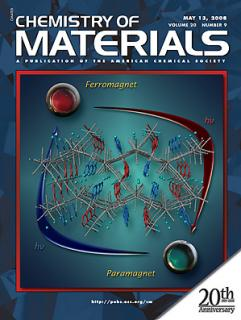 Chemistry of Materials の表紙