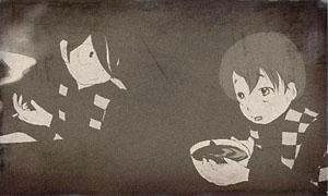 鬼太郎と贋太郎