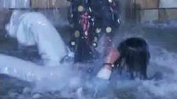 #2ゆり噴水で格闘