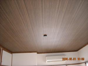 和室壁紙張替1(天井面・壁面)
