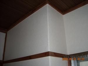 和室壁紙張替2(天井面・壁面)