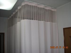 ネットプラスカーテン取付