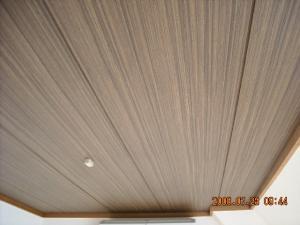 和室天井面壁紙張替後(クロス張替後)