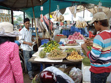 カンボジアのドリアンも美味かった!!