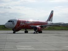 AirAsia!! そのうち日本への便もできるんだろなー