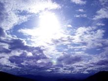 遮蔽物ないから空も丸ごと眺められるよ-!