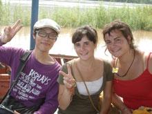 日本に留学してた2人娘、何ヶ国語しゃべれるんだか・・格好いい