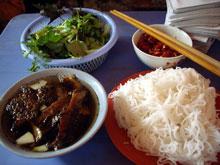BUN CHAはハノイに行ったら絶対食べるべし!!
