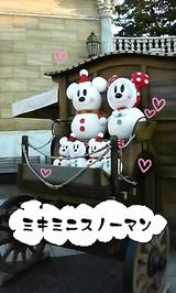 ミキミニ雪だるま