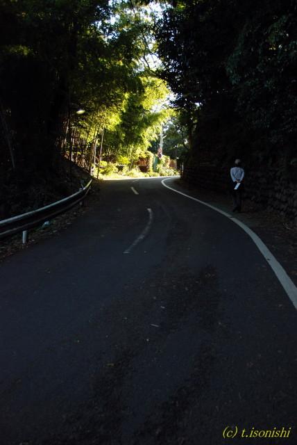 坂道の先(2007/10/28)