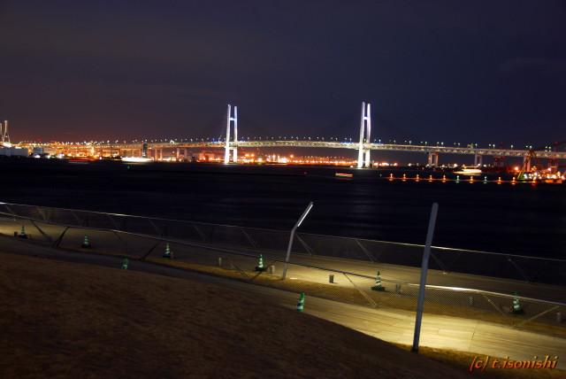 横浜ベイブリッジ(2008/3/9)