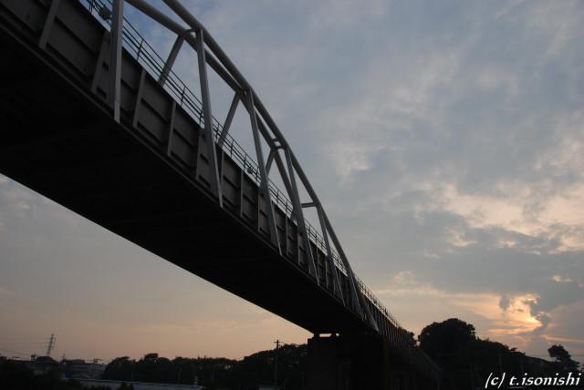 引地川水道橋(2008/7/13)