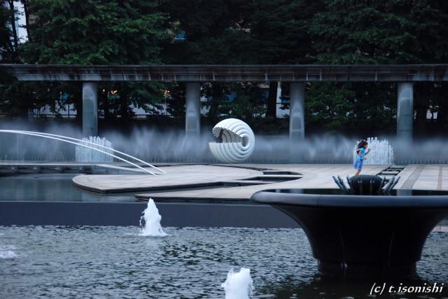 和田倉噴水公園(2008/7/20)