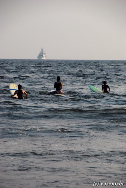 波を待つ(2008/7/21)